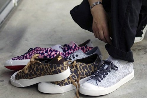 c1bdc6710ce fragment design x Nike Zoom All Court 2 Low - Leopard Pack ...
