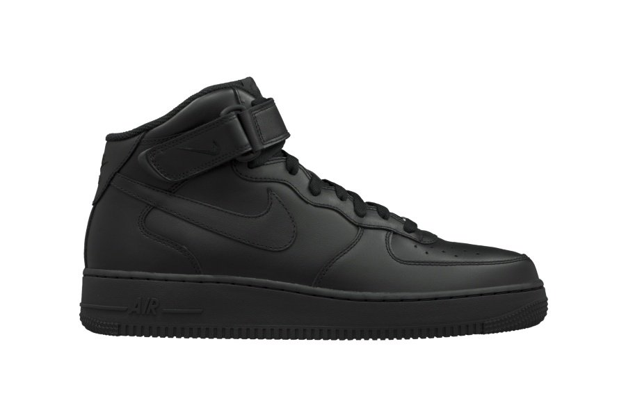 nike-air-force-one-mid-07-triple-black-