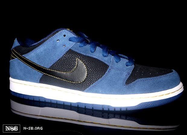 Nike SB Dunk Low - Blue Black White - Spring 2012  5ad669de2365