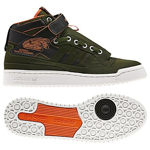 lowest price c8706 acd48 Star Wars x adidas Originals Forum Mid  Han Solo