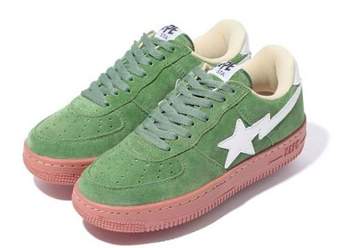 A Bathing Ape Bape Sta - Brick Sole Collection
