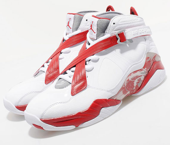 Air Jordan 8.0 - White/Varsity Red - Available Early