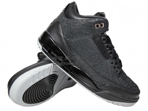 1ea0958a69663d And we are back with another set of new images featuring the Air Jordan III  Retro  Black Flip .
