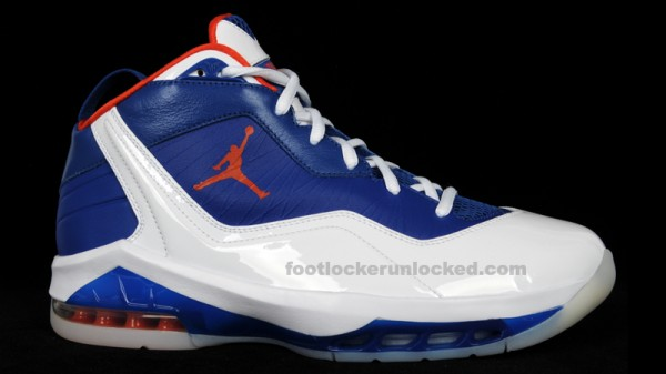 579fc5d5746 free shipping Air Jordan Melo 8 Knicks Home and Away First Look ...