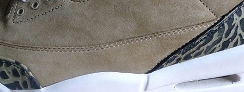 Air Jordan Retro III (3) - Denim & Khaki Teaser Images