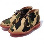 Bape x Mark McNairy 1st Camo Chukka Boot – Now Available