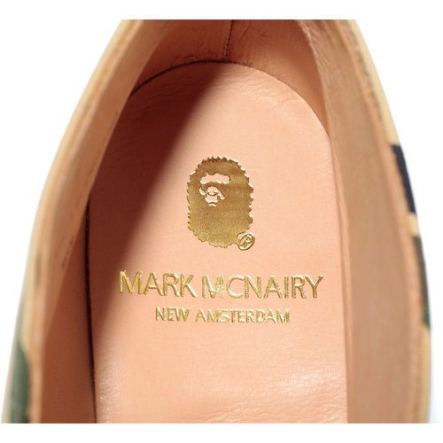 Bape x Mark McNairy 1st Camo Chukka Boot - Now Available