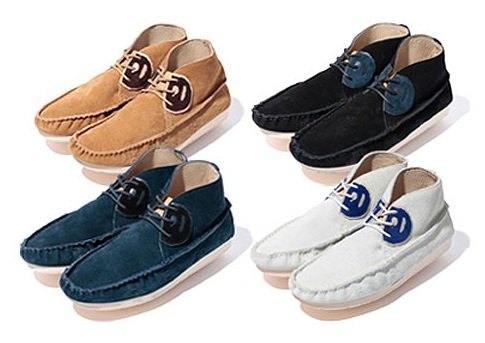 Cause x A Bathing Ape Moccasins - Fall 2011
