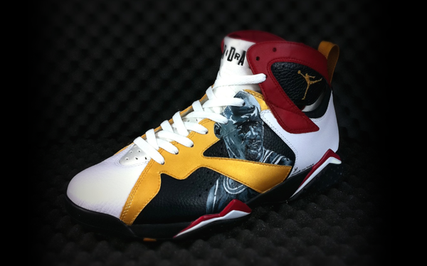 reputable site 30282 7e98d custom retro 7 jordans