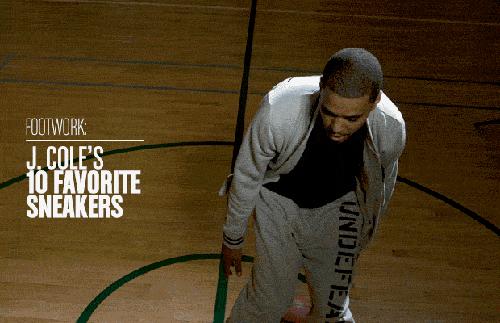 J. Cole's 10 Favorite Sneakers