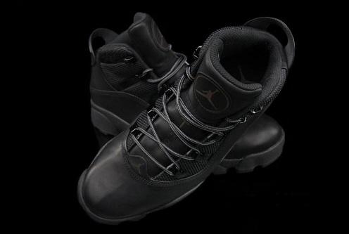 """Jordan 6 Rings Winterized """"Blackout"""""""