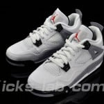 Jordan IV (4) White/ Cement GS