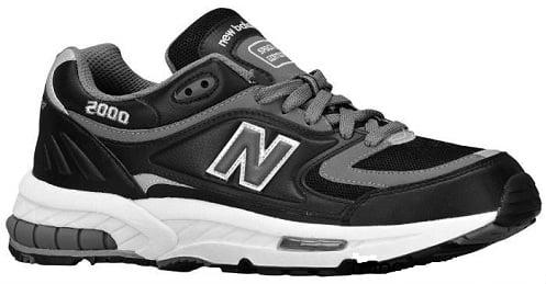 black and grey new balance 2000