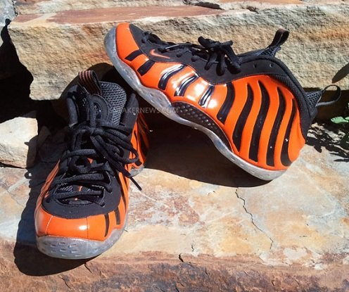"Nike Air Foamposite One Custom ""Tiger"""