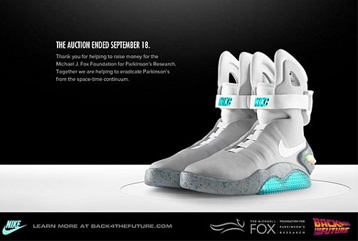 Nike Air Mag 2011 Auctions Are A Huge Success