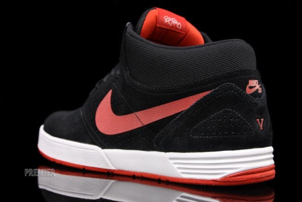 Nike Paul Rodriguez 5 Mid - Black/Sport Red - Now Available