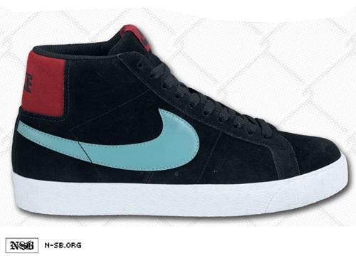 Nike SB Blazer - Black/Sea Crystal