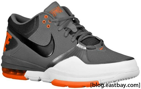 Nike Trainer 1.3 Mid - Dark Grey/Black-Team Orange-White