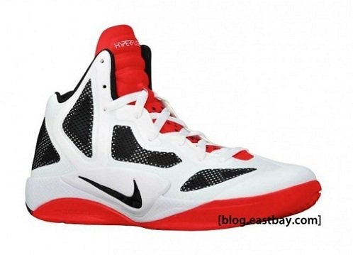 Nike Zoom Hyperfuse 2011 - White/Sport Red-Black