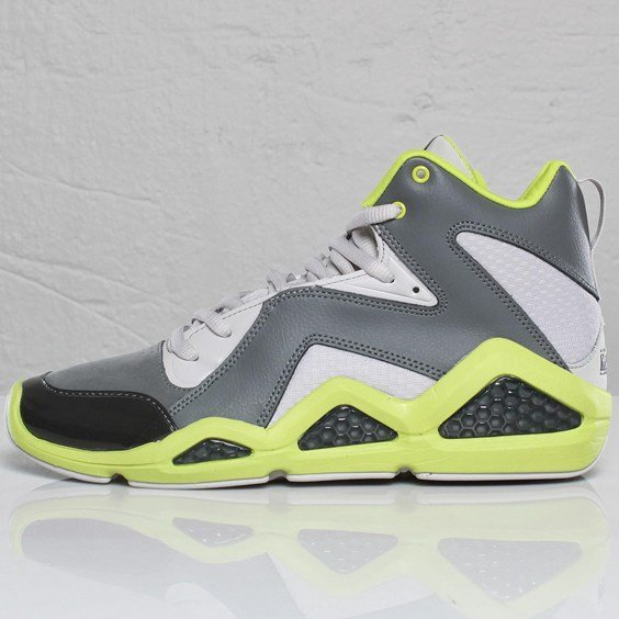 Reebok Kamikaze III - Rivet Grey/Steel/Green - Available Early