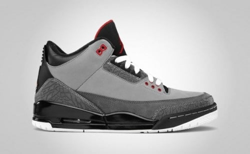 "Release Reminder: Air Jordan Retro III (3) ""Stealth"""