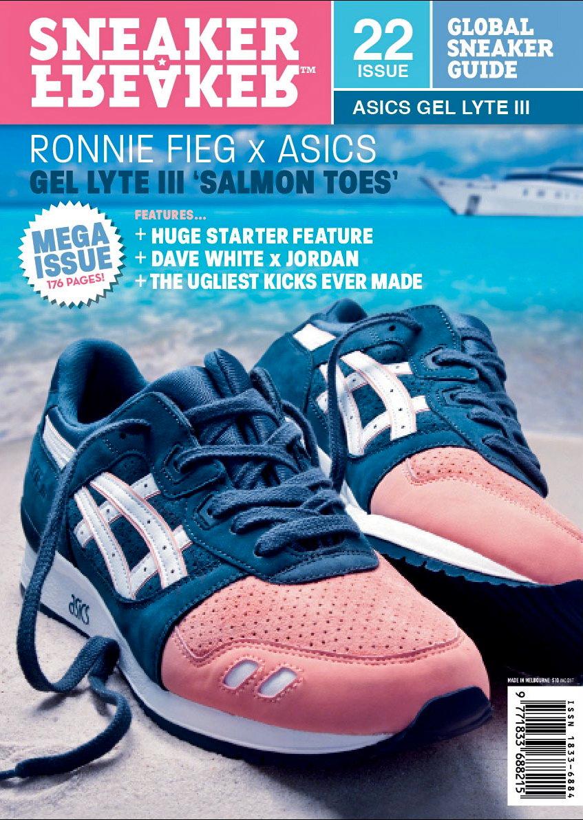 "Ronnie Fieg x ASICS Gel Lyte III (3) ""Salmon Toe"""
