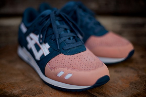 "Ronnie Fieg x asics Gel Lyte III ""Salmon Toe"" - Now Available"