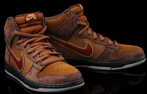 "Todd Bratrud x SPoT x Nike SB Dunk High ""The Cigar"" - Limited Availability"