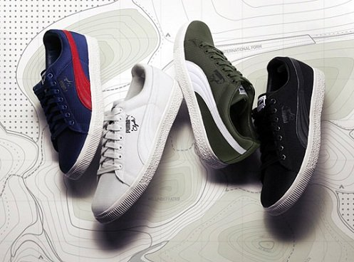 Undefeated x Puma Clyde Ripstop Pack - Complete Look