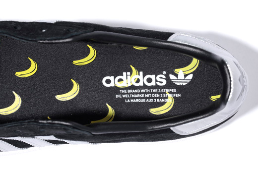 "XLARGE x adidas Originals Campus 80s ""Bananas"" - Another Look"