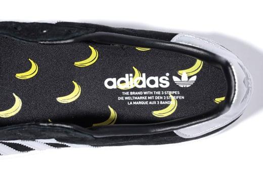 "XLARGE x adidas Originals Campus 80s ""Bananas"" - Another Look"
