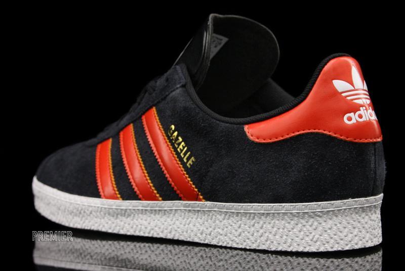 Adidas Gazelle Dark Red
