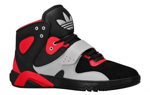 adidas Roundhouse Mid - Black/Light Scarlet/Ice