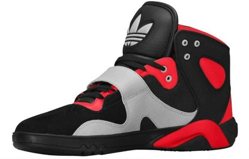 adidas Roundhouse Mid - Black/Light Scarlet/Ice