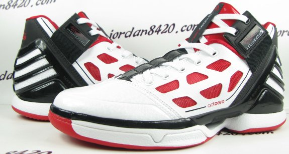 adidas adiZero Rose 2.0 White Red-Black