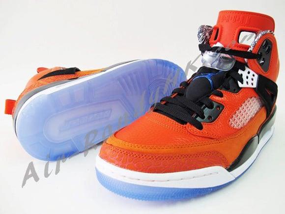 Air Jordan Spizike Orange New York Knicks PE
