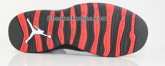 Air Jordan X (10) Chicago Retro 2012 - Detailed Look