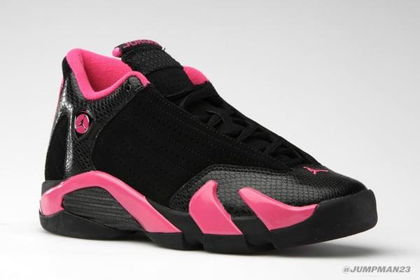 pretty nice 5f4e5 da9da Air Jordan XIV Retro (GS) - Black/Vivid Pink - Official ...