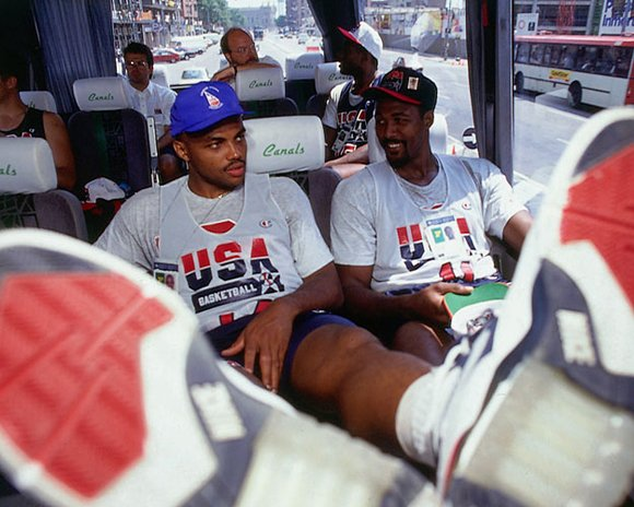 Charles Barkley Malone Bus Ride 1992 Nike Air Force 180 Dream Team