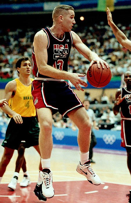 Chris Mullin Passing 1992 Olympic Dream Team