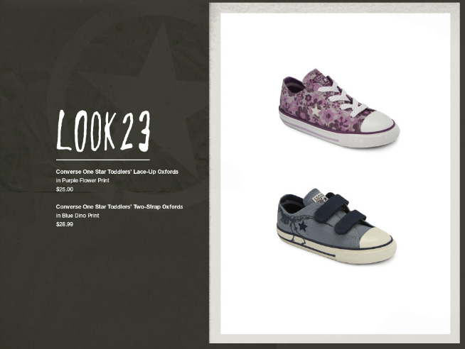 Converse One Star for Target Fall 2011 Collection