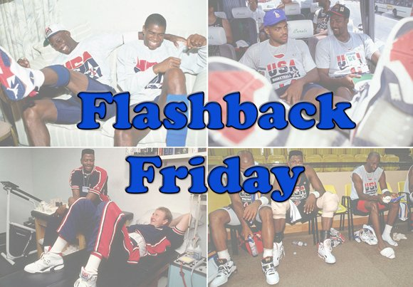 Flashback Friday: Olympic 1992 Dream Team