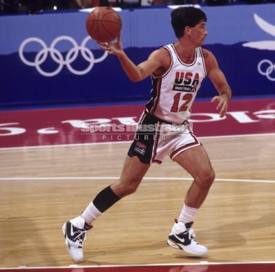 John Stockton Passing 1992 Dream Team Olympic