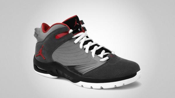 Jordan New School Anthracite/Varsity Red-Cool Grey-Black