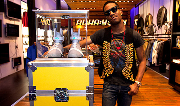 Kid Cudi Wins Four Pairs of Nike Air Mag 2011 Auctions