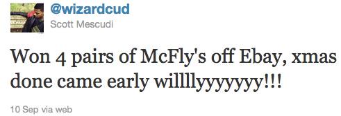 Kid Cudi Wins Four Pairs Nike Air Mag 2011 Auctions