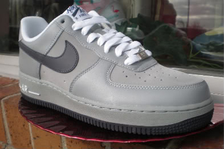 Nike Air Force 1 '07 - Shadow Grey / Anthracite - White   SneakerFiles