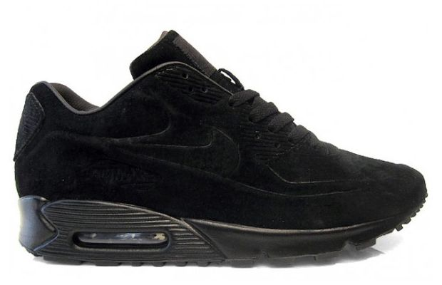 nike air max 90 premium black suede