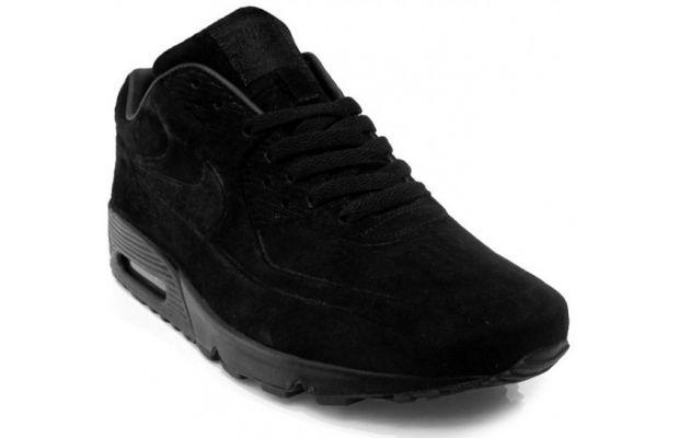 all black air max 90 suede