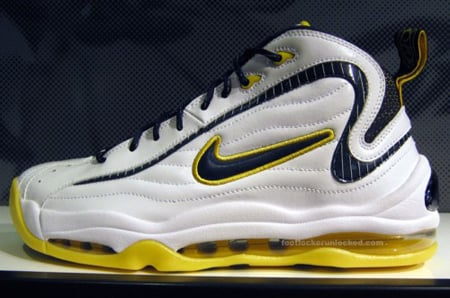 Nike Air Total Max Uptempo Indiana Pacers | SneakerFiles